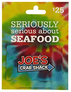 Joe's Crab Shack Gift Card