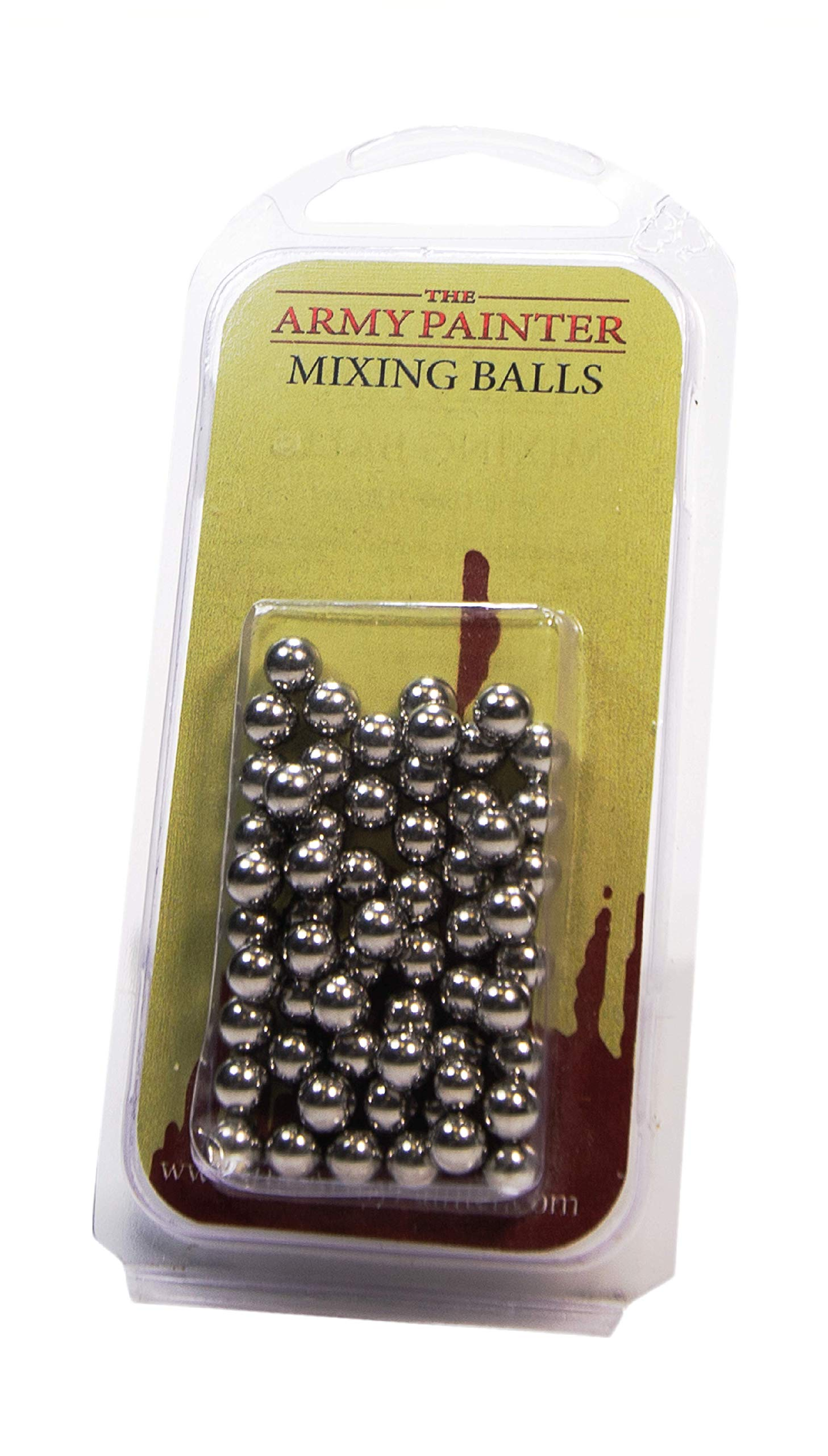 The Army Painter Paint Mixing Balls - Rust-proof Stainless Steel Balls for Mixing Model Paints - Stainless Steel Mixing Agitator Balls, 5.5mm/apr. 0.22'', 100 Pcs