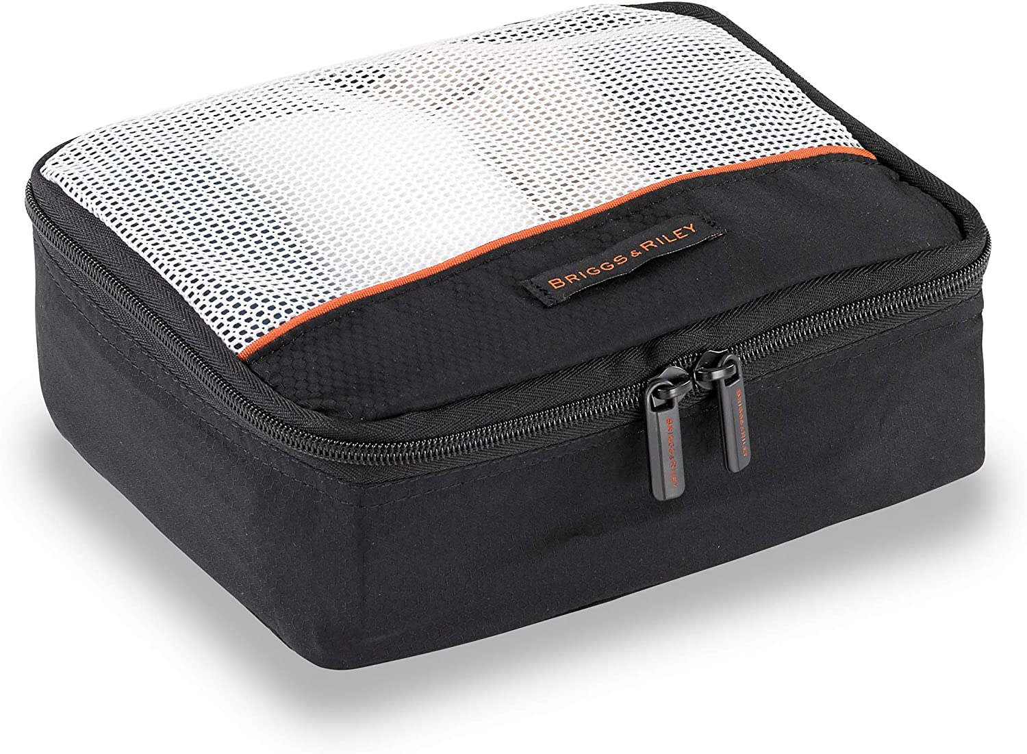 Briggs /& Riley 3 Pack Zippered Packing Cubes//Luggage Organizers for Travel Black