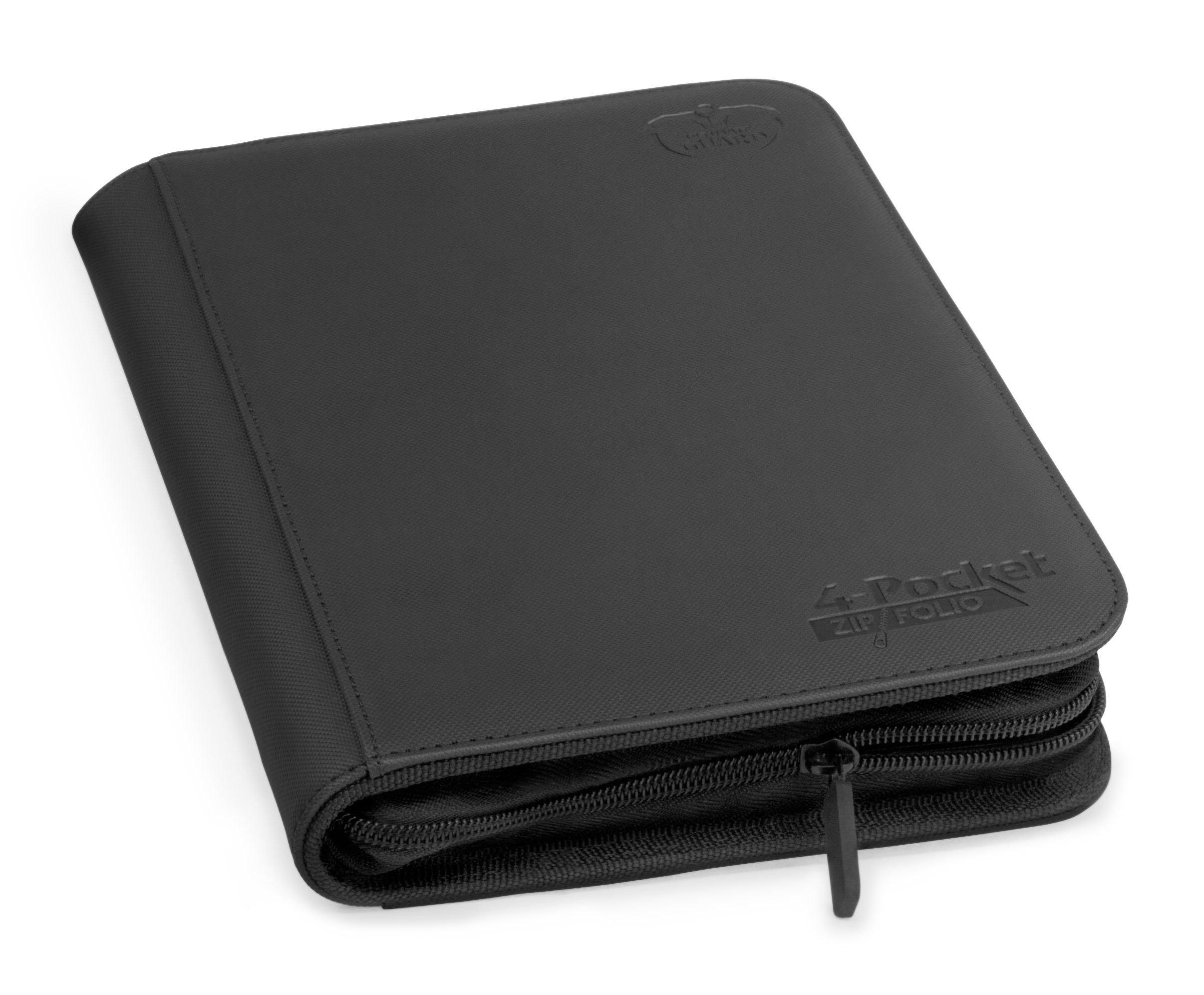 4 Pocket Zipfolio Xenoskin Deck Case, Black