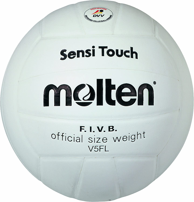MOLTEN Voleibol Fundido - 5, Blanco: Amazon.es: Deportes y aire libre