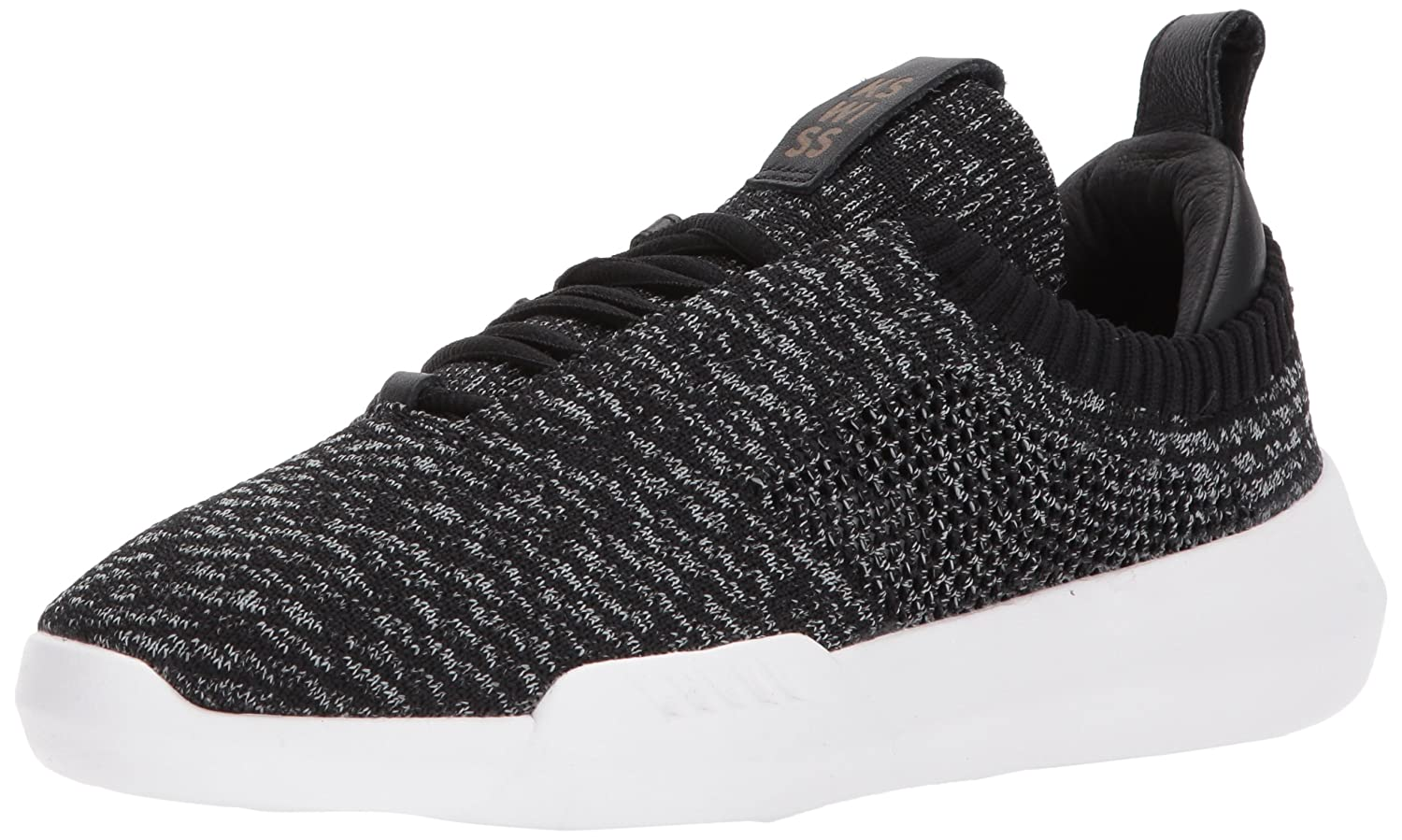 K-Swiss Women's Gen-k Icon Knit Sneaker B071HXY25M 10 B(M) US|Black/Gray Heather