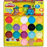 Play-Doh - Super Colour Kit  - 18 x 85g Tubs of Dough - Creative Kids Toys - Ages 2+