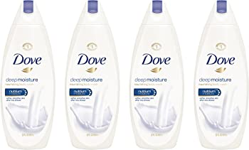 4-Pack Dove Deep Moisture 22 oz Body Wash