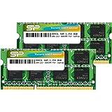 Silicon Power DDR3L 16GB (8GBx2) RAM 1333MHz (PC3 10600) 204 pin CL9 1.35V Non ECC Unbuffered SODIMM-Laptop Memory…