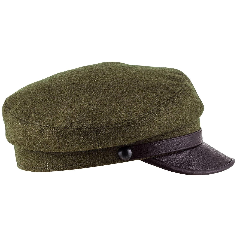 Sterkowski Men's Maciejówka Cap Leather Visor MST-MAC-S08W05-m1