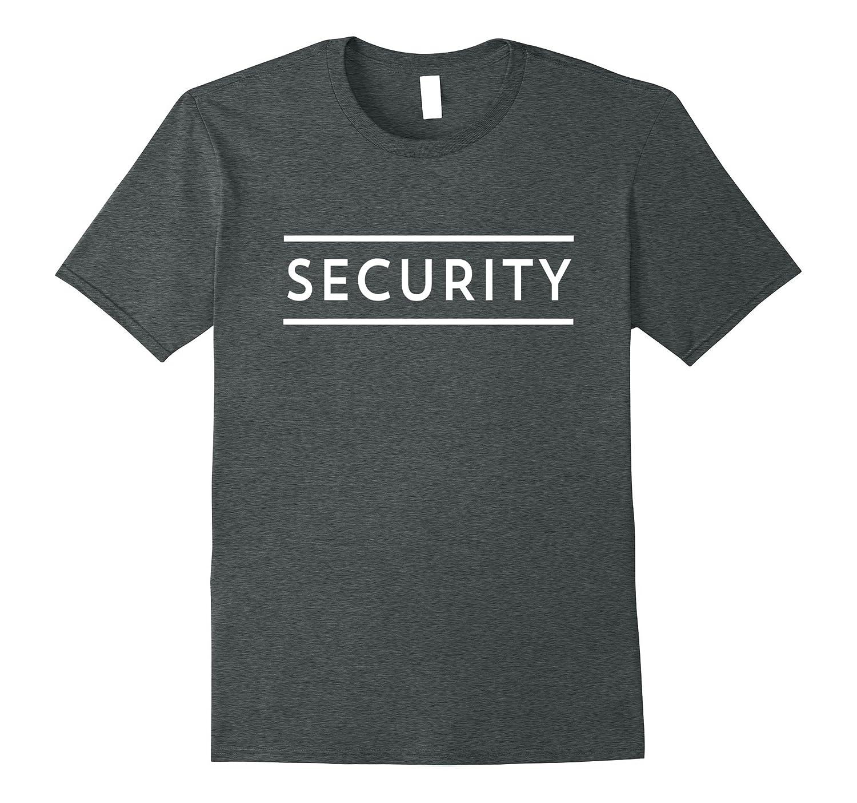 Official Security Guard Halloween Costume T-Shirt-FL