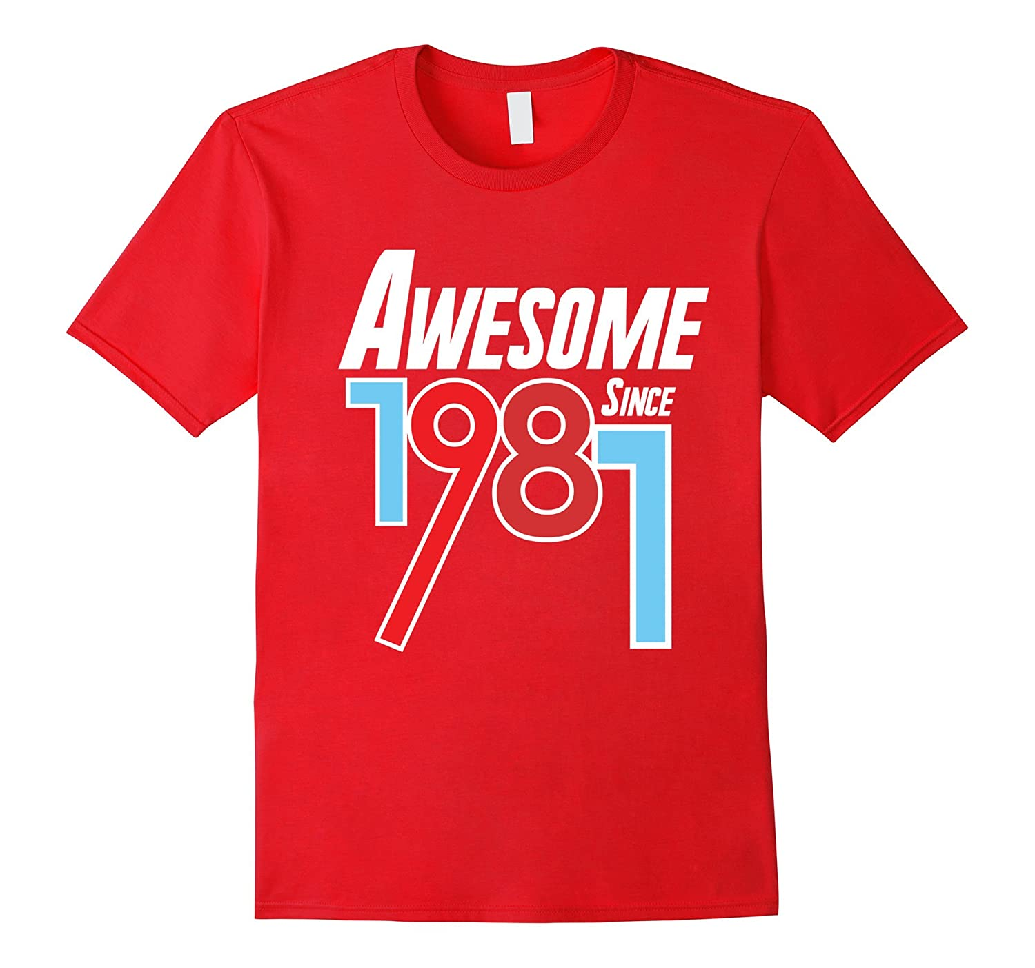 Awesome Since 1981 36th Birthday Gift T-Shirt-Vaci