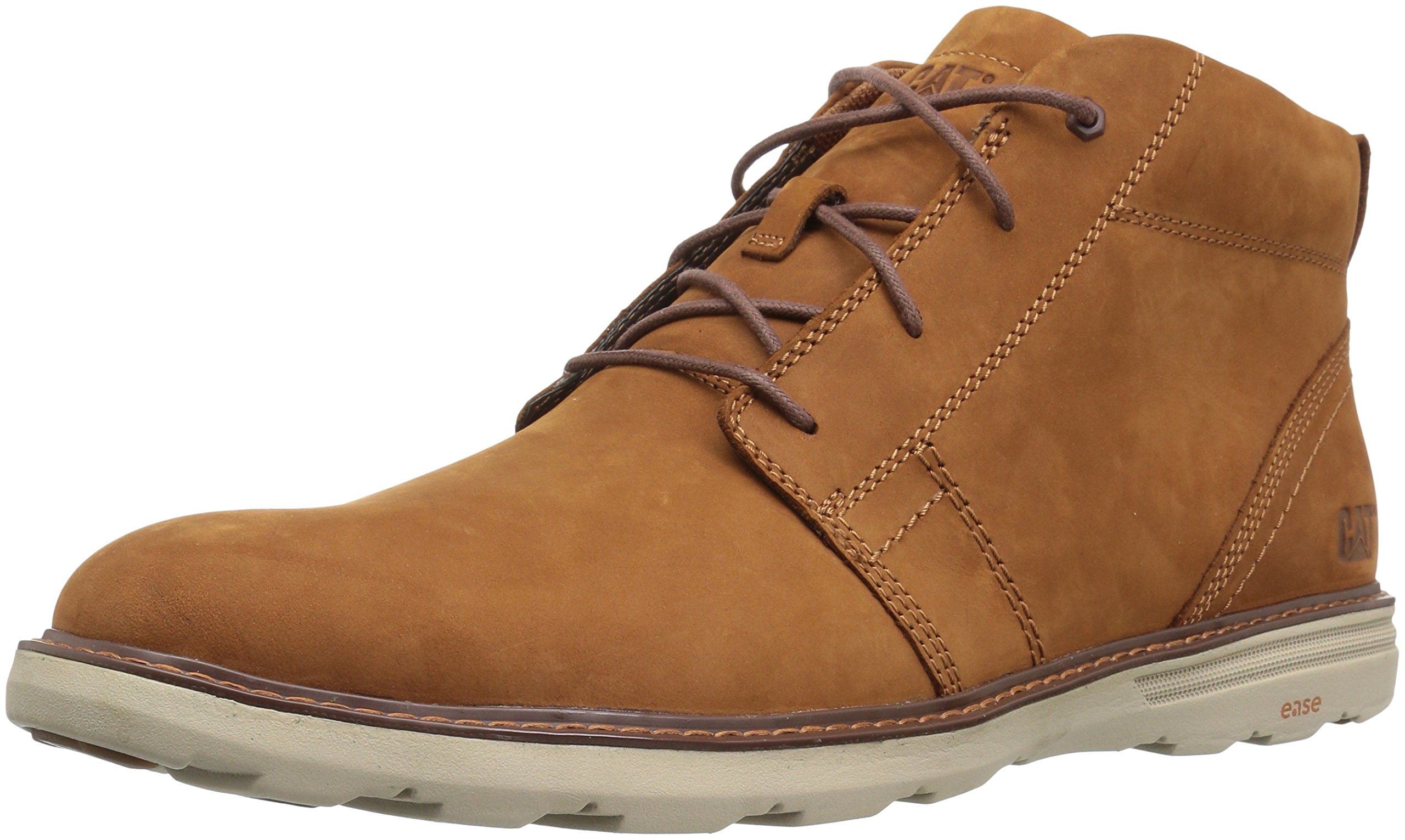 Caterpillar Men's Trey Chukka Boot, Glazed Ginger, 8.5 D US