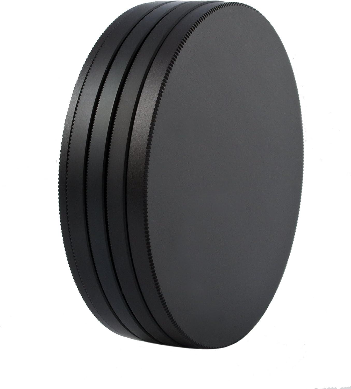 Slim PRO II Digital MC Neutral Graufilter Set bestehend aus ND8 ND64 ND1000 Filtern 55 mm inkl Stack Cap Filtercontainer Pro Lens Cap mit Innengriff
