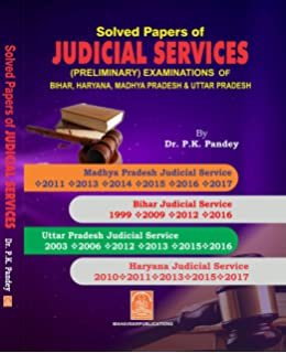 Buy Solved Papers of Judicial & Other Law Competitions Book