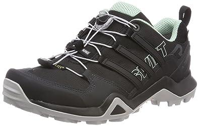 9154adb32b2 adidas Damen Terrex Swift R2 GTX Trekking-& Wanderhalbschuhe, schwarz, 43.3  EU