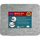 """17"""" x 13.5"""" Quilting Ironing Pad for Quilters – Wool Pressing Mat, Portable Wool Felted Iron Board"""