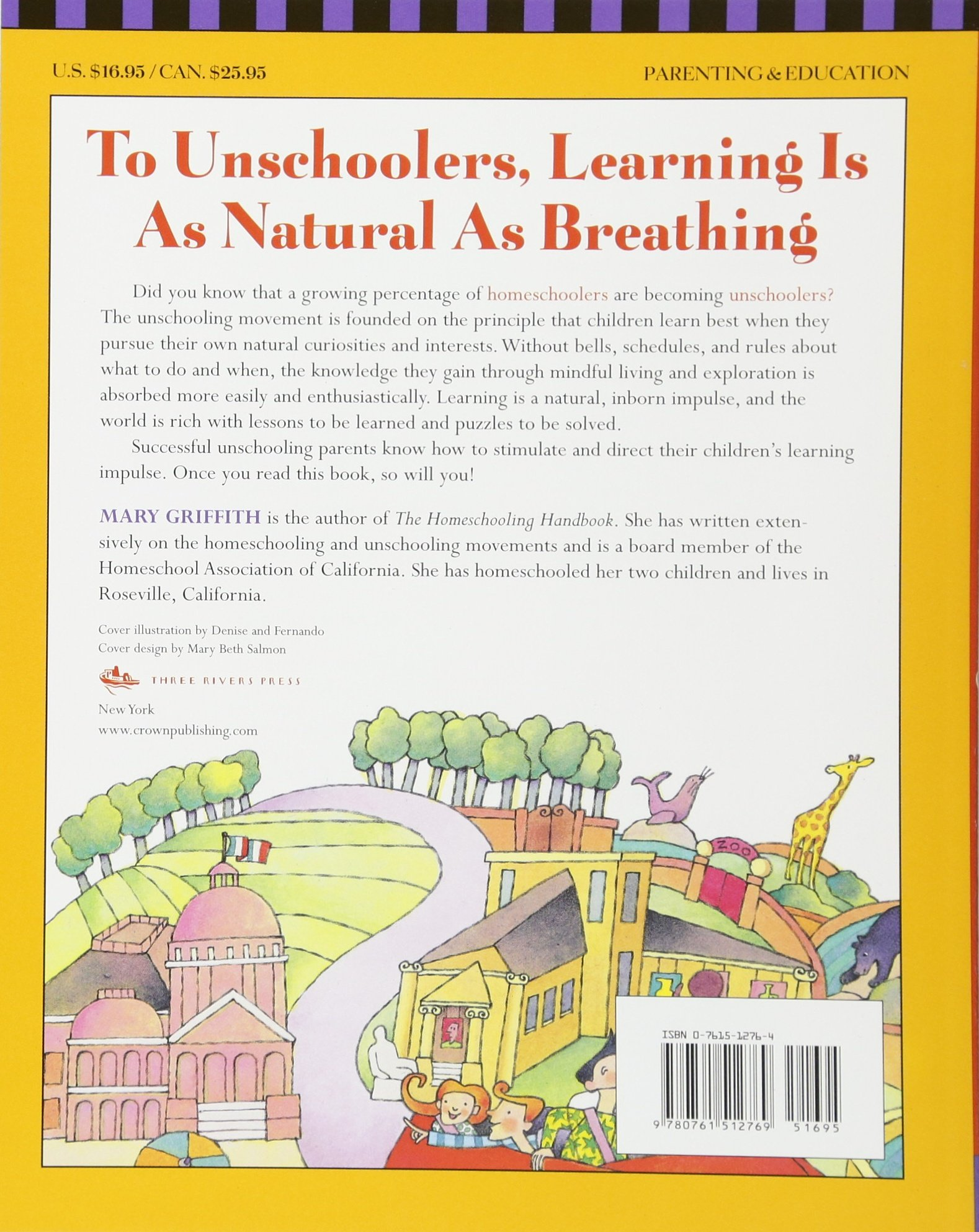Amazon.com: The Unschooling Handbook : How to Use the Whole World