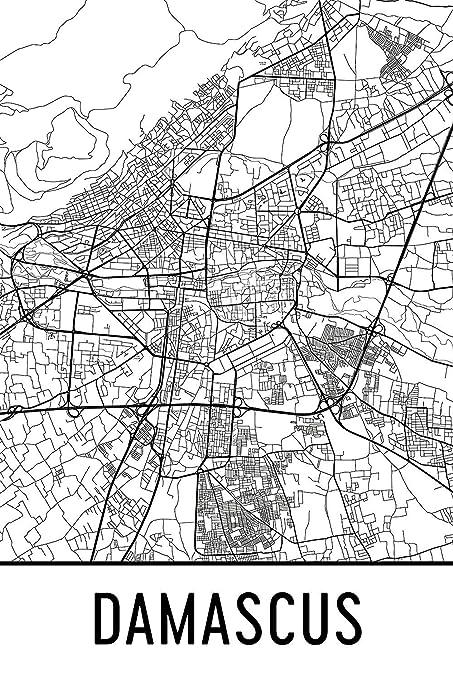 Amazon.com: Modern Map Art Damascus Print, Damascus Art ... on pakistan map, tunis tunisia map, damascus oregon map, asma al-assad, kabul afghanistan map, amman jordan map, baghdad map, world map, jerusalem map, beirut lebanon map, bahrain map, golan heights map, ancient damascus map, istanbul map, damascus steel, middle east map, rome italy map, arabian sea map, bashar al-assad, algiers algeria map, mid east map, damascus citadel, tripoli lebanon map, tel aviv,