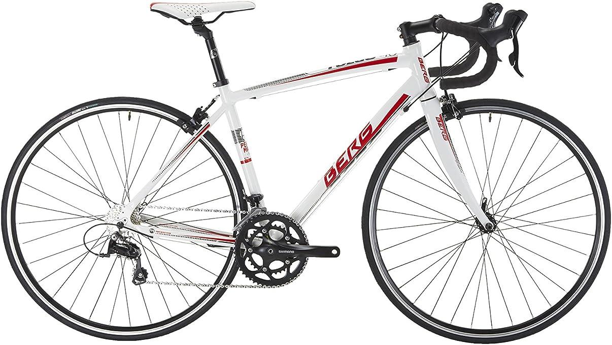 Berg Bicicleta Fuego 40 M WH/Rd_Cy Blanco/Rojo: Amazon.es: Deportes y aire libre