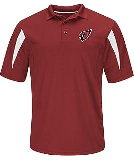 Amazon.com   OTS NFL Adult Men s Sueded Short Sleeve Polo Shirt ... 8491352d9