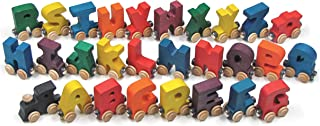 product image for Bright A-Z NameTrains Alphabet Train - Made in USA