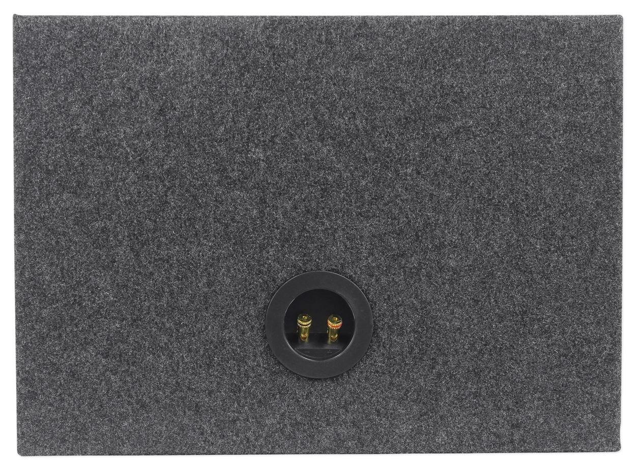 Rockville Shallow Sub Box Enclosure for Rockford Fosgate P3SD2-8 8 Subwoofer