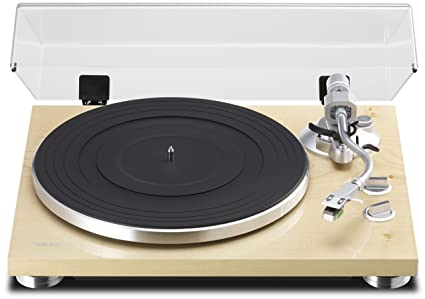 TEAC TN-350-NA analog turntable Natural