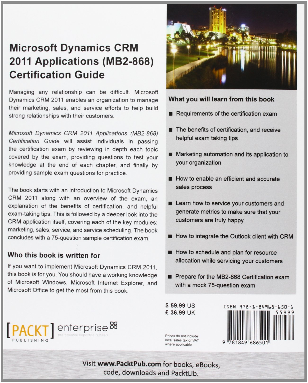 Microsoft dynamics crm 2011 applications mb2 868 certification microsoft dynamics crm 2011 applications mb2 868 certification guide danny varghese 9781849686501 amazon books xflitez Images