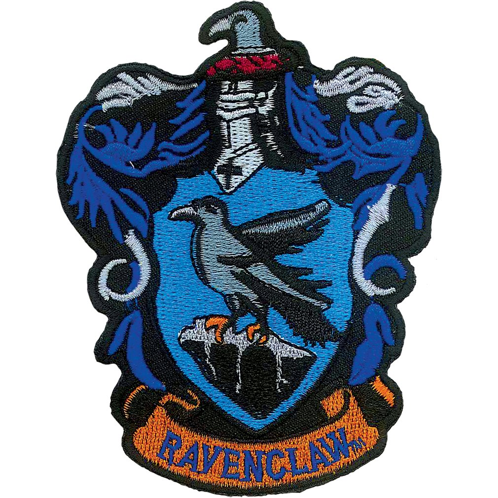 Harry Potter Ravenclaw Iron On Patch Ata-Boy Inc. 61006HP