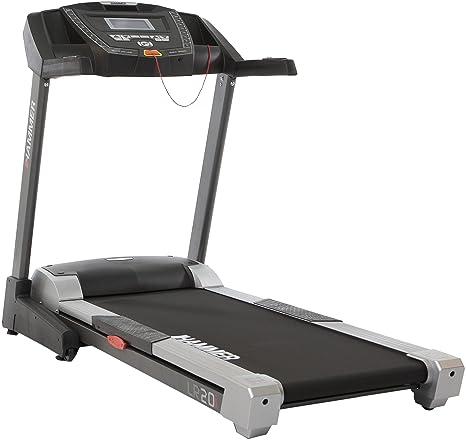 Hammer LR 20i - Cinta de Correr para Fitness (Plegable, pulsómetro ...