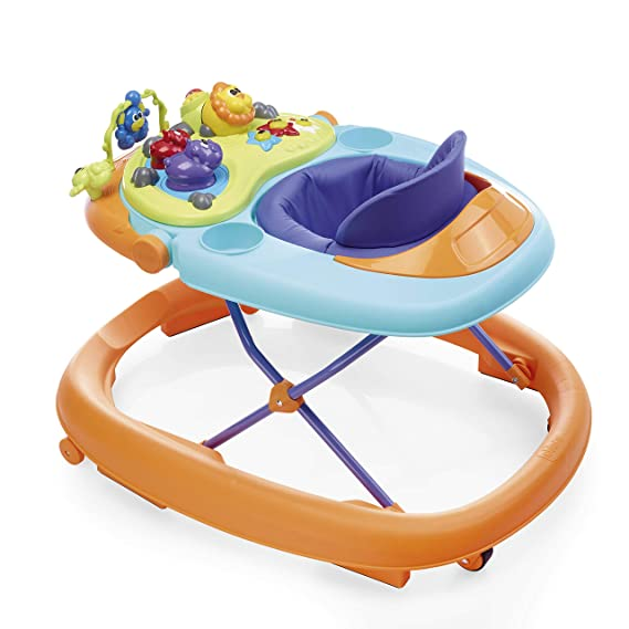 Chicco Walky Talky Baby Walker - Wave (Orange)