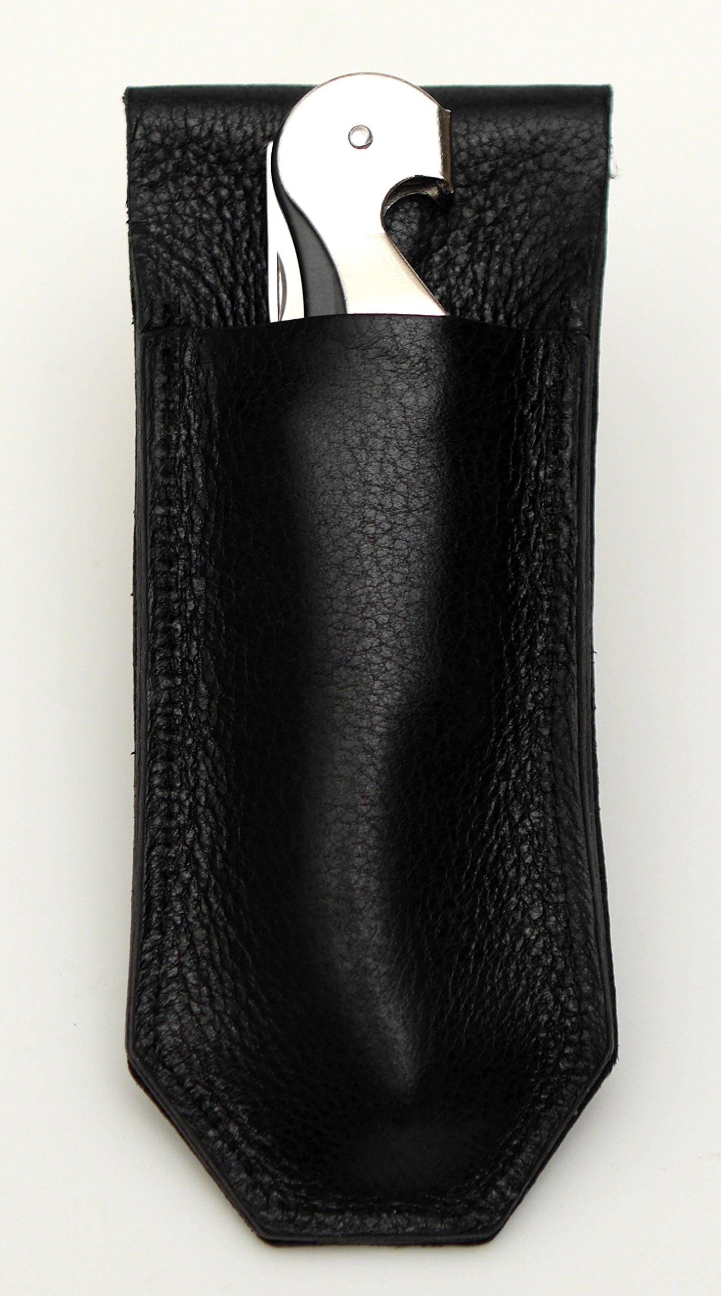 The Somm Holster - Magnetic Corkscrew Holster (Black) with Pulltap's Corkscrew