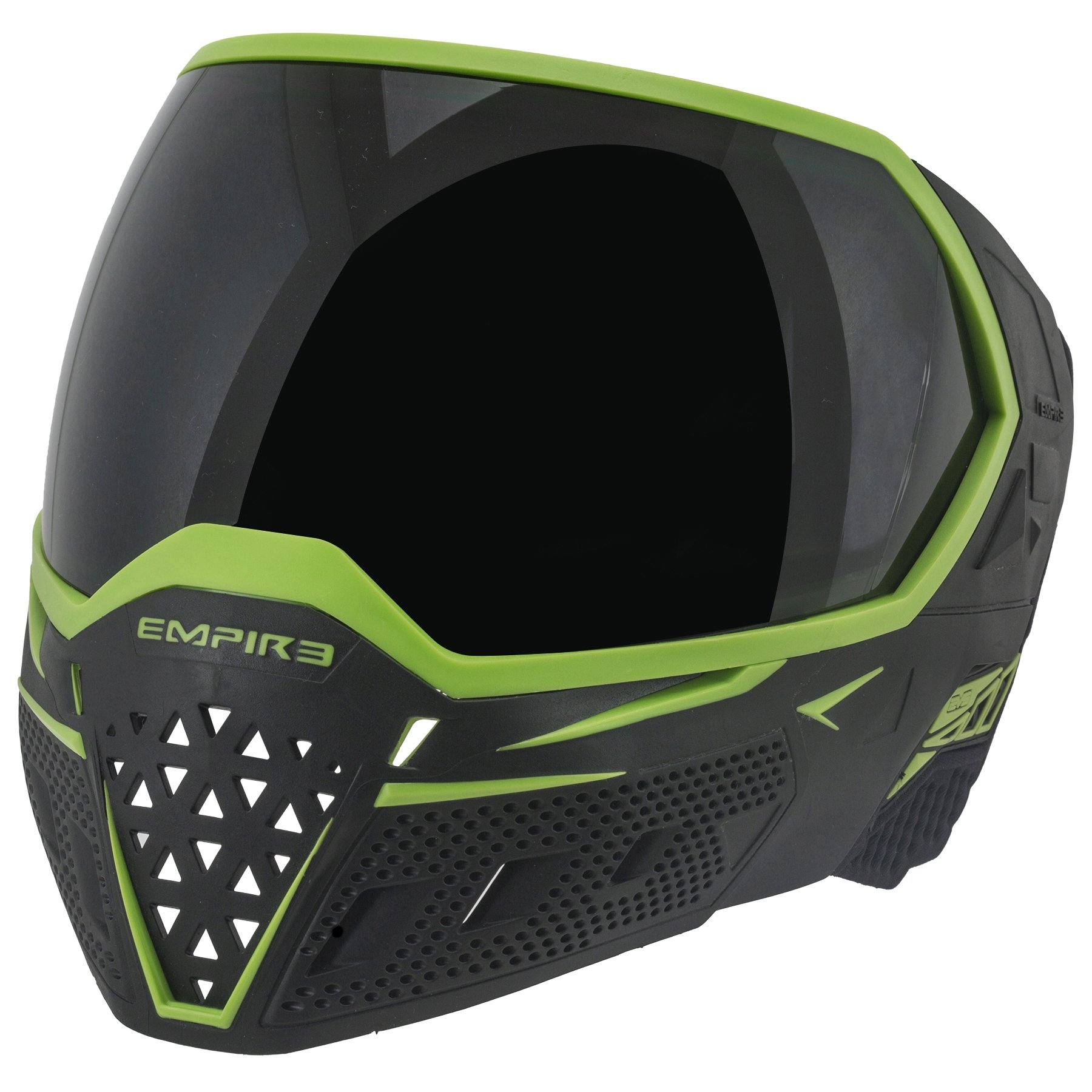 Empire EVS Thermal Paintball Goggles - Black/Lime by Empire