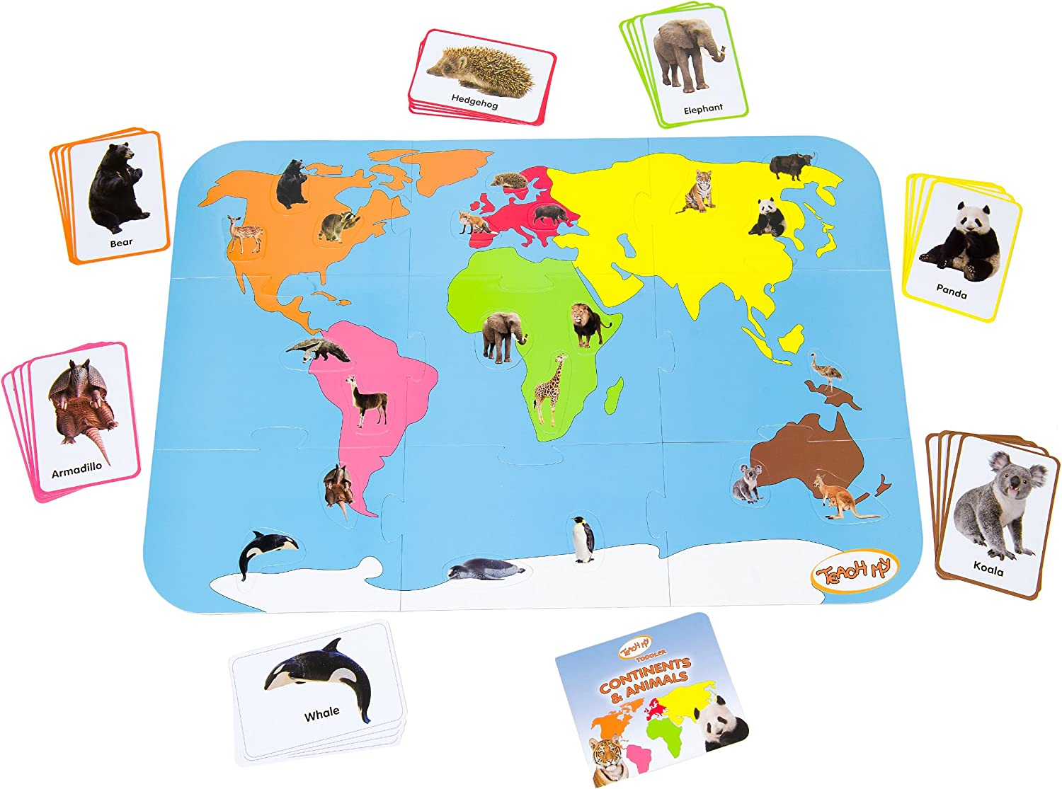 My Continents and Animals