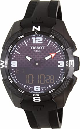 814603bcb456 Tissot Men s T-Touch Expert Titanium Swiss-Quartz Watch with Silicone  Strap