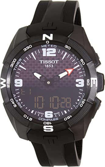 ee9d92bfe0b Image Unavailable. Image not available for. Colour  TISSOT® T-Touch Expert  Solar Men s Watch T0914204705701