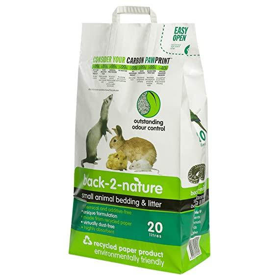 Fibrecycle USA Inc. Back-2-Nature Small Animal Bedding 20 Liter