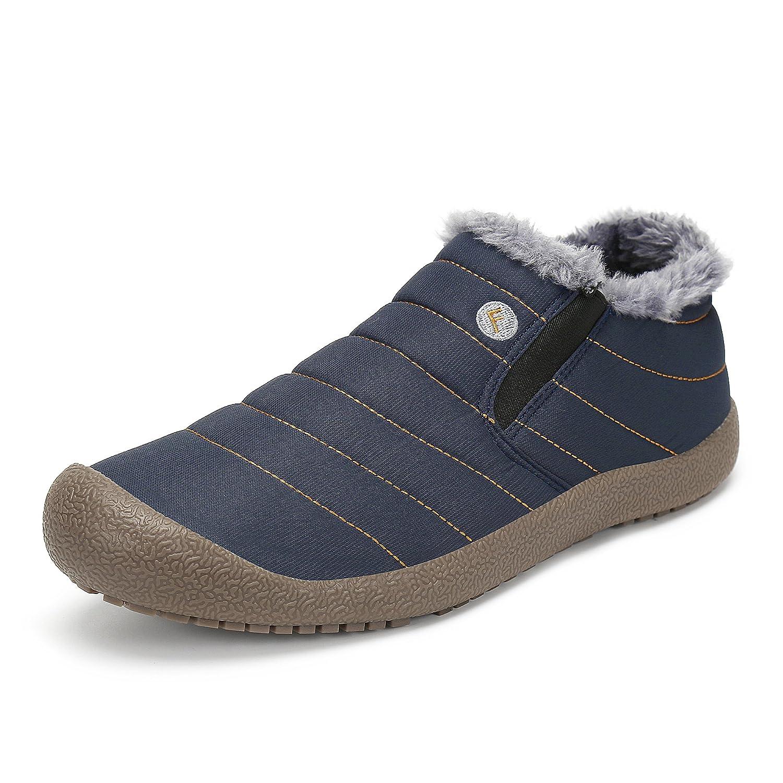 SAGUARO® Homme Femme Bottes Hiver Neige Cheville Boots Chaudes Fourrure Bottines