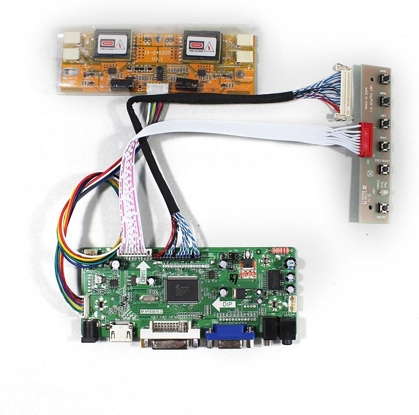 Placa LCD para M201EW02 M220EW01 20.1 22 1680x1050 4CCFL