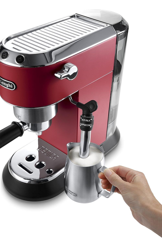 Espresso Siebträgermaschine bis 200 Euro De'Longhi EC 685.R Dedica