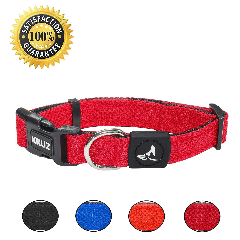 Kruz PET Breathable Mesh Dog Collar