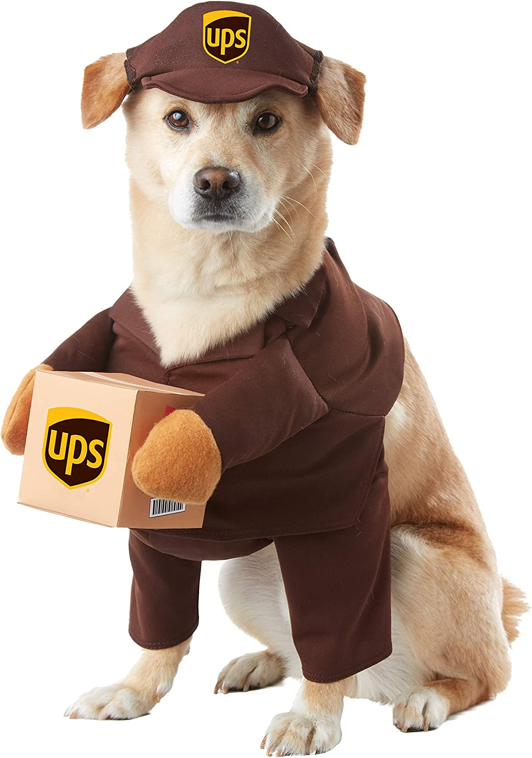Brown_UPS PAL Dog Costume