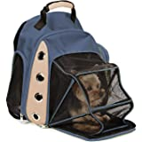 Multiple Deluxe Dog Carrier Mesh Travel Backpack Double Shoulders Straps Bag for Small Pet Puppy Cat