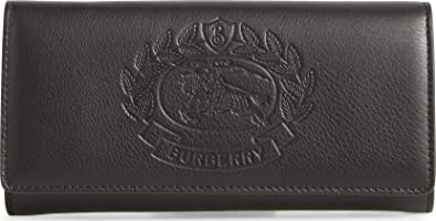 b1cef875bb98 Image Unavailable. Image not available for. Color: BURBERRY Black Wallet ...