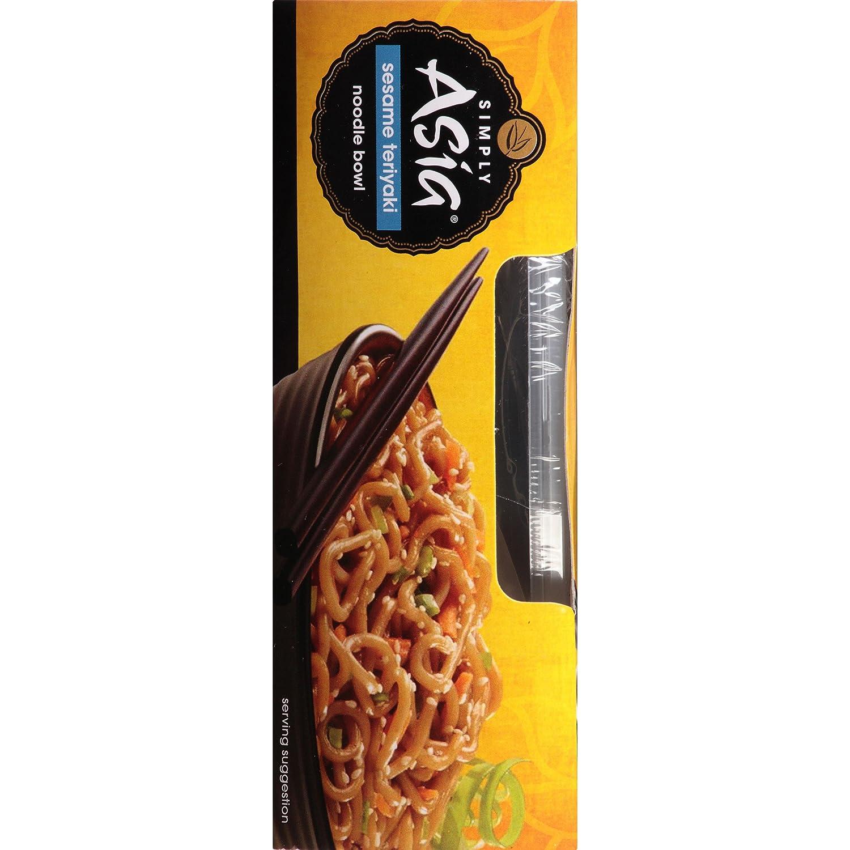 Amazon Simply Asia Sesame Teriyaki Noodle Bowl 8 5 oz Case