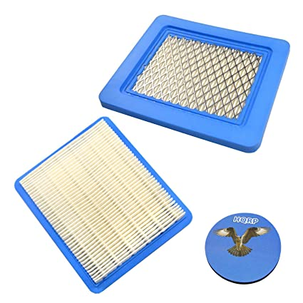 HQRP 2-Pack Air Filter for Husqvarna 917 375810, 917 375820, 917 375830,  917 375840 917 375350, 917 375361, 917 375363, 917 375940, 917 375950 Lawn