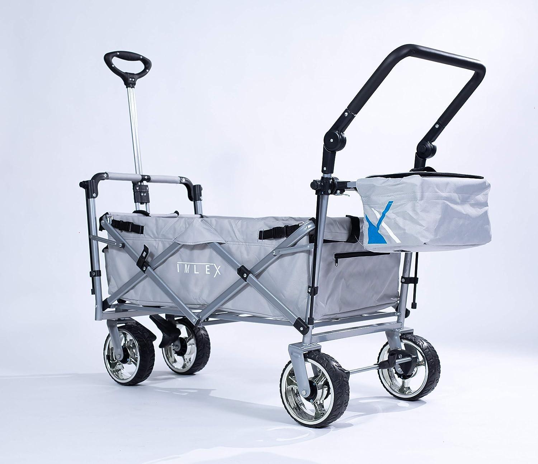 Rain Cover Car Imlex Handcart IM-4268 Blue//Grey Beach Cart Cooler Bag
