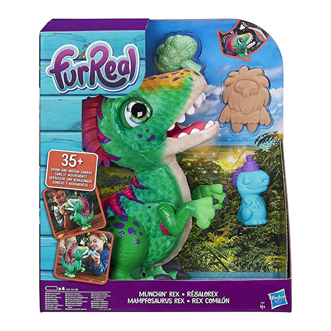 deb79bc1ddd431 Amazon.com  furReal Munchin  Rex  Toys   Games