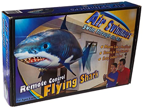 Amazon.com  Air Swimmer Inflatable Flying Shark Replacement Balloon ... 9afc7cf9eab6