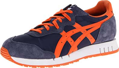 Asics - Mens Onitsuka Tiger X-Caliber Shoes In Navy/Orange, UK: