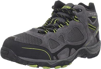 Amazon Com Hi Tec Total Terrain Mid Zapatillas De Senderismo Impermeables Para Hombre Shoes