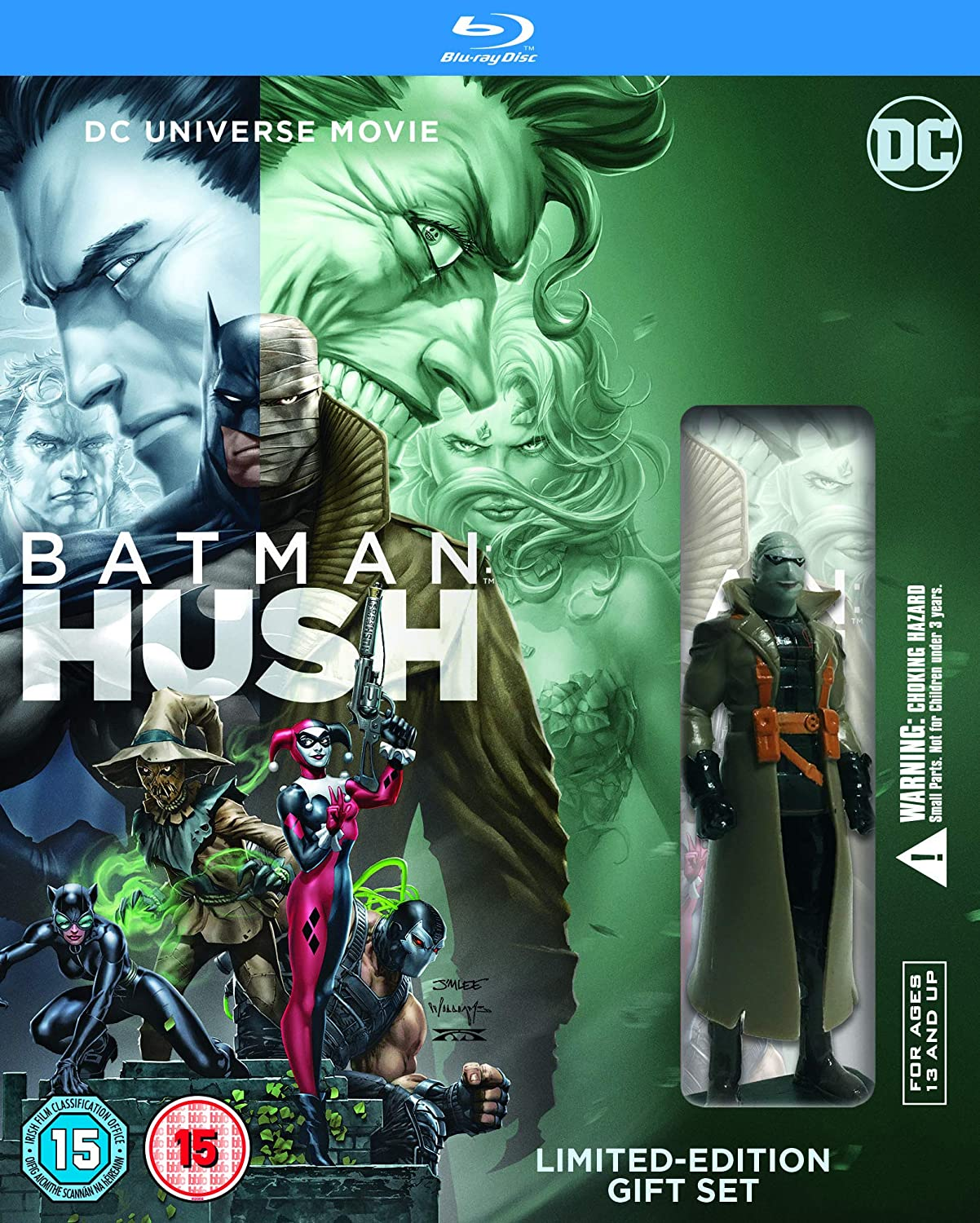 Amazon.com: Batman Hush Minifig [Blu-ray] [2019]: Cine y TV