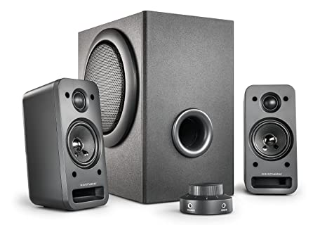 Gut gemocht wavemaster MX3+ 2.1 Lautsprecher System (50 Watt) Aktiv-Boxen für VW12